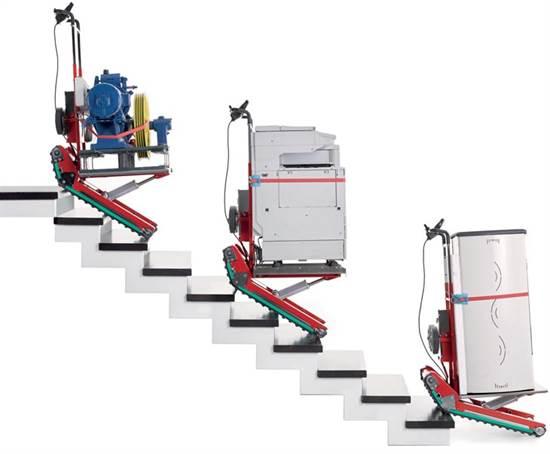Carrello Sali Scale Cingolato 400 Kg Attrezzatura E Accessori